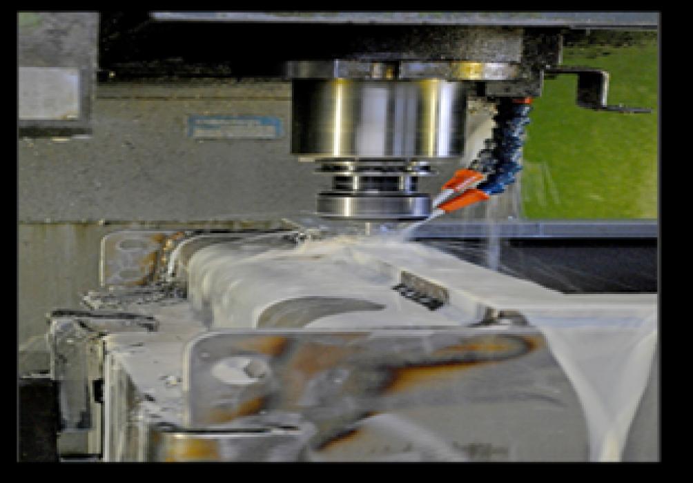 CNC - milling machine.