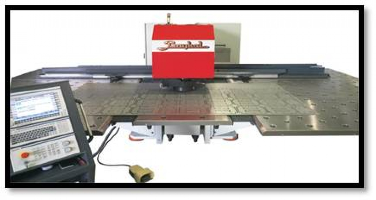 Punching machine (CNC).